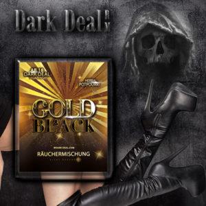 Gold & Black 7g Räuchermischung Legal Highs